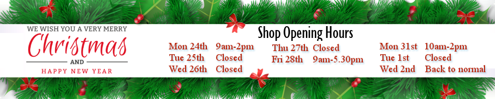 Xmass Opening Hours