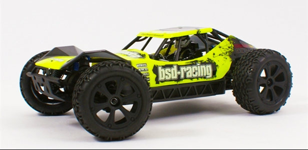 Flux Desert Assault V2 Buggy 4WD Brushless 1/10TH 7.4V LI-PO fluorescent yellow