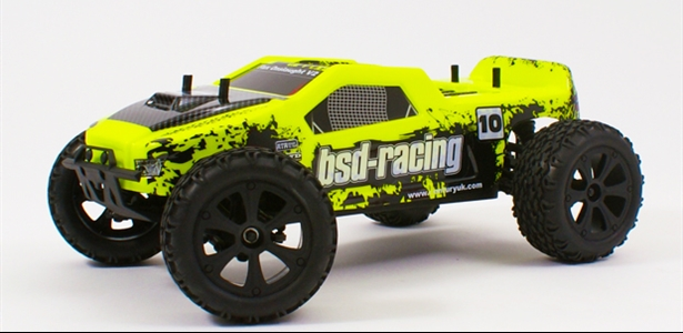 Flux Onslaught V2 Brushless  fluorescent yellow