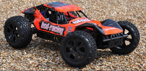 Prime Desert Assault V2 Buggy 4WD 1/10TH 7.2V NI-MH fluorescent orange