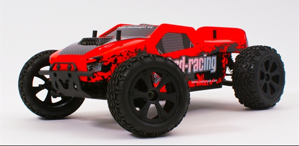BSD Prime Onslaught V2 truck 4WD 1/10TH 7.2V NI-MH fluorescent orange
