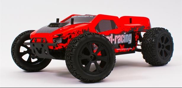 Prime Onslaught V2 truck 4WD 1/10TH 7.2V NI-MH fluorescent orange