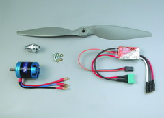 EasyCub Brushless Motor Set