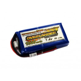 1000mAh 2S 7.4v 30C Supersport JST connector