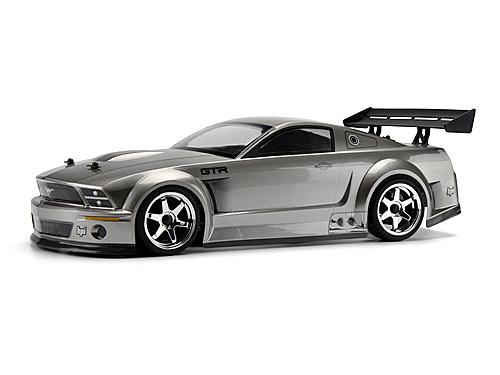 Ford Mustang GT-R Body Gunmetal 200mm