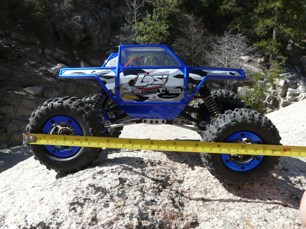 Losi Mini Rock Crawler 1/18