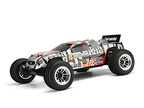 RTR E-FIRESTORM 10T WITH 2.4GHZ WITH DSX-2 TRUCK BODY