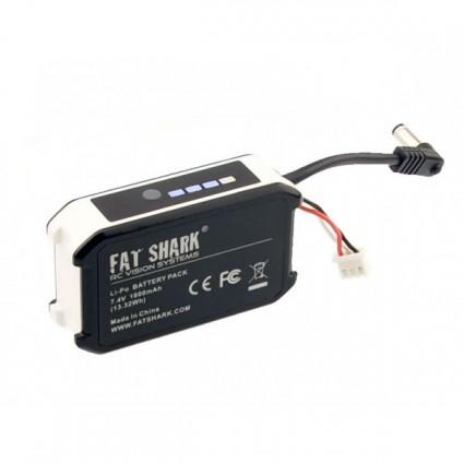 FatShark 7.4V 1800mAh Battery With LED Indicator