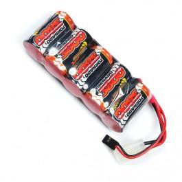 3800mah 6v Flat Premium Sport Nimh Battery Pack SubC
