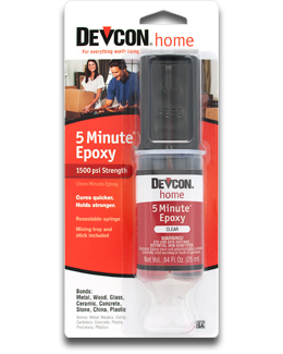 Devcon 5 Minute Epoxy (25ml Syringe)