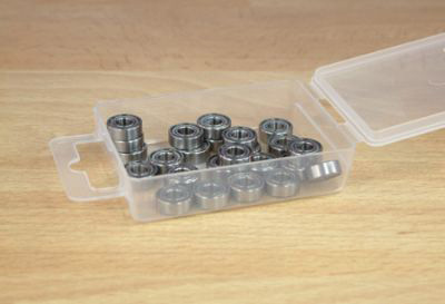 21290 Bearing set for TT01 Chassis