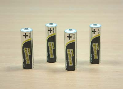 Ultramax Rechargeable AA Batteries