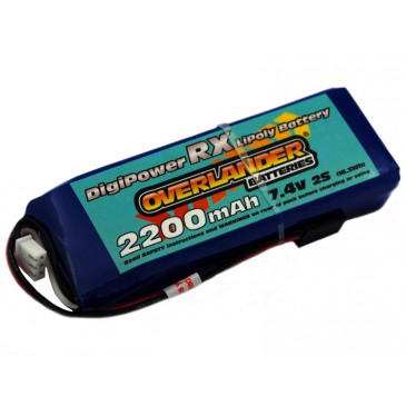 Digi-Power Lithium Polymer 2200mah Receiver pack