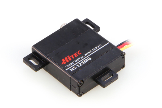 HS125MG Slim Wing Servo MG 0.17s/3.0kg