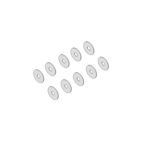 Spacer 7x2x0.3mm (10pcs)
