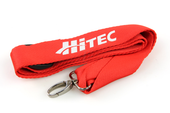 Hitec neck strap (red)
