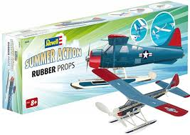 Revell Air Master 24325 rubber band powered floatplane