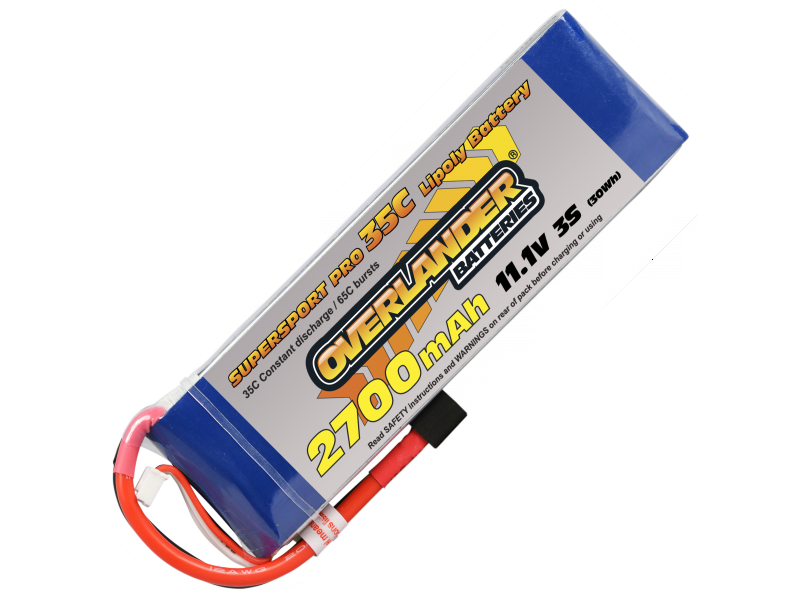 2700mAh 3S 11.1v 35C SUPERSPORT Pro