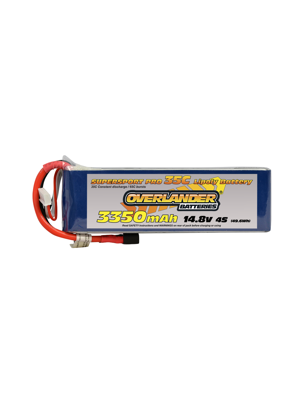 3350MAH 14.8V 4S 35C SUPERSPORT PRO LIPO EC5