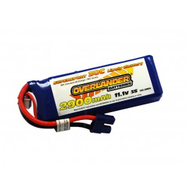 2900mAh 3S 11.1v 35C Supersport Pro EC3
