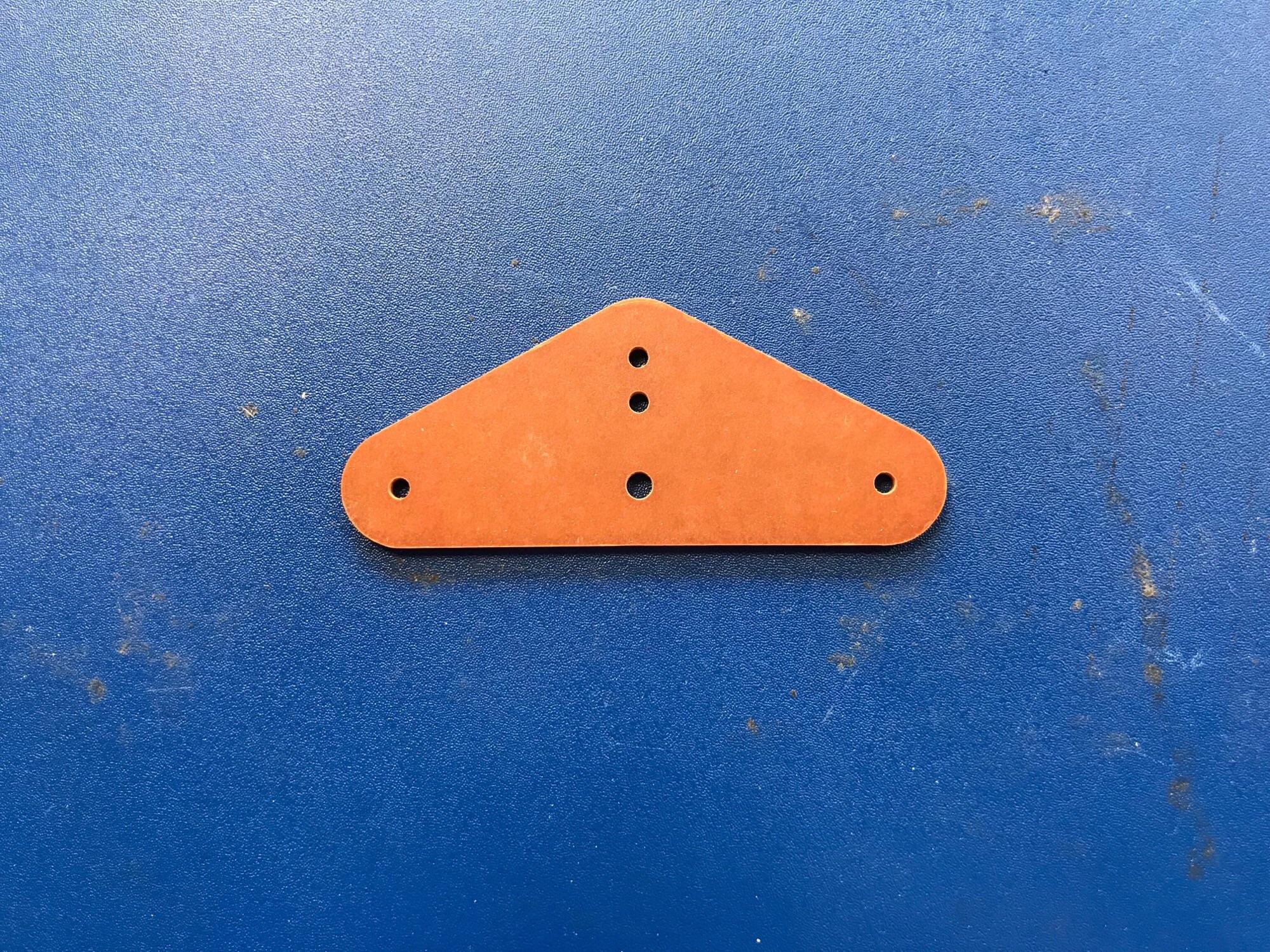2 inch Paxolin Control Line Bellcrank