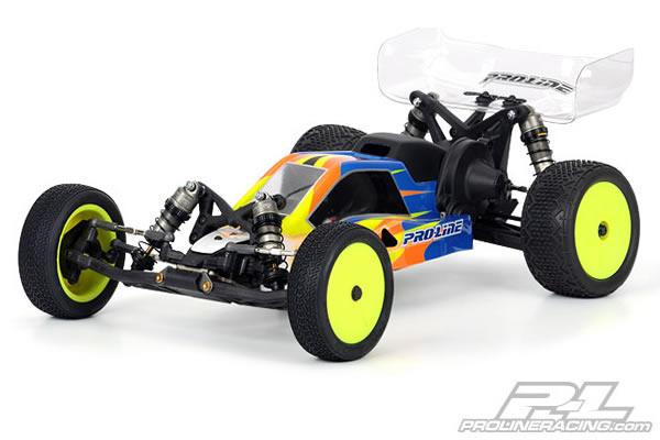 Proline BullDog Bodyshell (Mid Motor Configuration) for the Losi 22