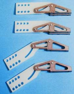 1/5 & 1/4 Scale Fowler Flap Hinges (4)
