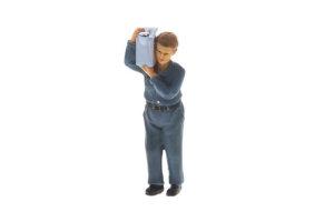 Marine Figure Standing