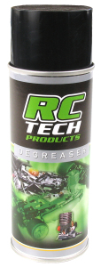 RC TECH DEGREASER/CLEANER SPRAY RC CARS 400ml