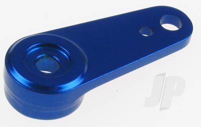 Aluminium CNC Servo Arm (Blue) (Futaba/JR/Hitec)
