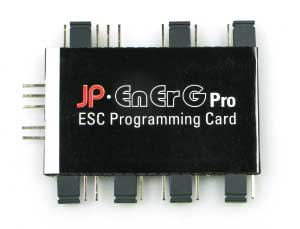 Energ Pro ESC Program Card
