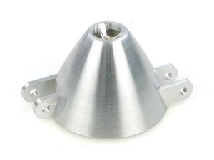 ALU. 41mm CNC COOLING SPINNER AND HUB (ELEC)