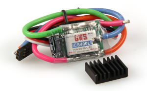 ICS 400LI MICRO LI-POLY (15A)SPEED CONTROLLER
