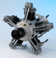 SC400 64cc 5 Cylinder Radial