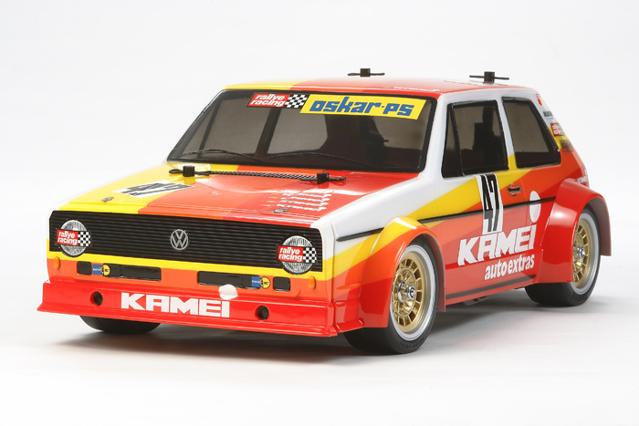 Tamiya Volkswagen Golf Mk1 Racing Group 2 Kamei (M-05)