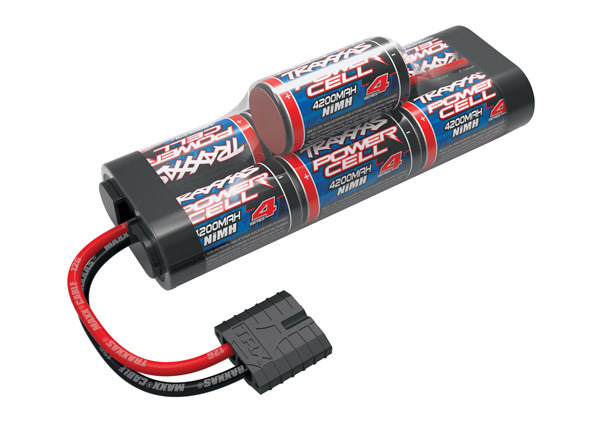 TRAXXAS Battery, Series 4 Power Cell ID, 4200mAh (NiMH, 8.4V hump) O-TRX2951X