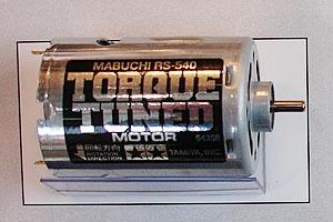 Mabuchi RS-540 Torque Tuned Brushed Motor
