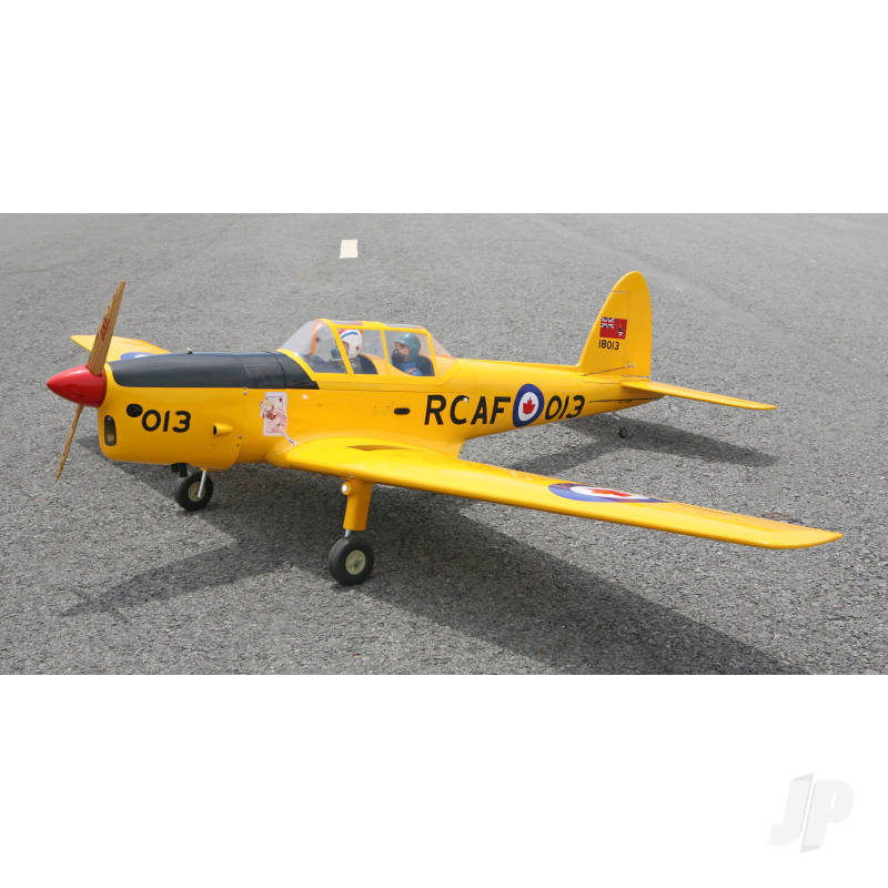 Chipmunk Yellow DHC-1 1/5 Scale 20cc (80in)