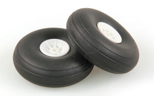 JP 2.1/4ins - (56mm) WHITE WHEELS (2)