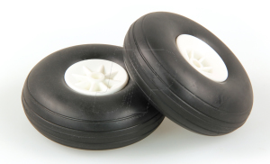 JP 2.1/2ins - (63mm) WHITE WHEELS (2)