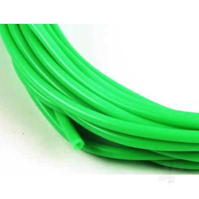2mm (3/32) Silicone Fuel Tube Neon Green (1M)