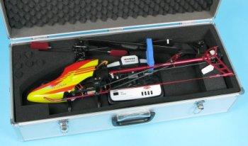 JP Aluminium Electric Heli Case (300-450 Class)