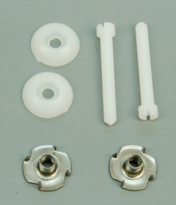 SLEC M6 Nylon wing bolts and T nuts (pk 2)