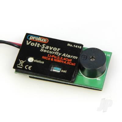 LiPo Low Voltage Alarm (Flash/Beep) 2-4 Cell
