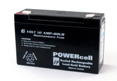 6V-12amp Powercell Gel Battery