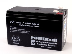 12V-7.2amp Powercell Gel Battery