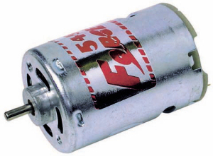 RS545 5 Pole Electric Motor
