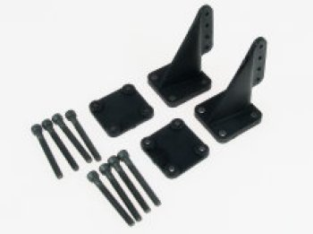 DUBRO LARGE T SHAPED CONTROL HORNS (2)