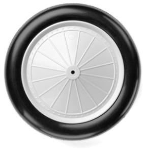 DB933V 237mm/9.33ins Vintage Wheels (1/3 Scale)
