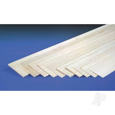 6.0mm 1mx100mm Sheet Balsa